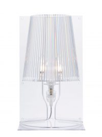 Kartell Ferruccio Laviani 1 Take Transparent Table Lamp