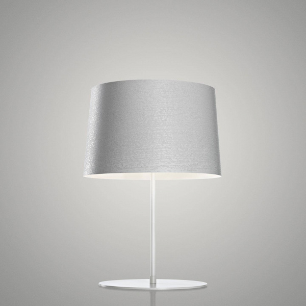 Twiggy XL White Table Lamp Foscarini Marc Sadler 1