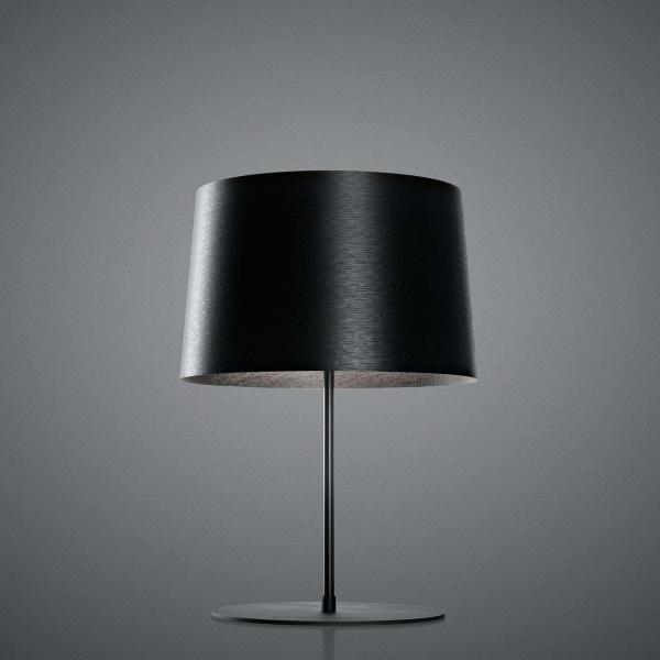 Lampe de table Twiggy XL noire Foscarini Marc Sadler 1