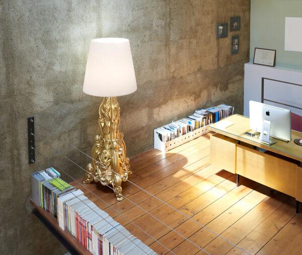 Floor Lamp Madame of Love Black Slide Moropigatti 2