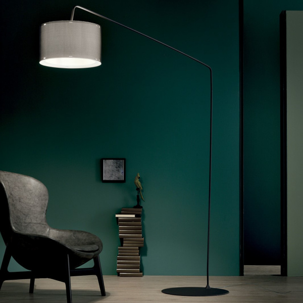 Lampada da Terra Thank You FL PT Bianco|Nero Linea Light Group Centro Design LLG