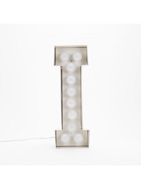 Vegaz Floor Lanp - Lèt mwen - H 60 cm Seleri Blan Selab