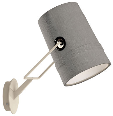 Wall lamp Fork Gray | Ivory Diesel with Foscarini Diesel Creative Team 1