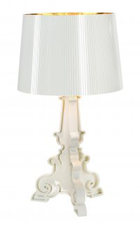 Bourgie Table Lamp White Gold Kartell Ferruccio Laviani 1