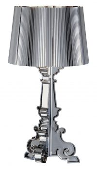 Lampe de table Kartell Bourgie Chrome Ferruccio Laviani 1