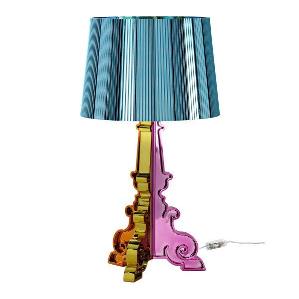 Lámpara de mesa Bourgie Edición limitada Navidad 2011 Azul claro azul Kartell Ferruccio Laviani 1