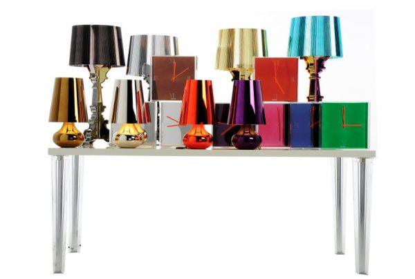 Bourgie table lamp Limited Edition Christmas 2011 Titanium Kartell Ferruccio Laviani 2