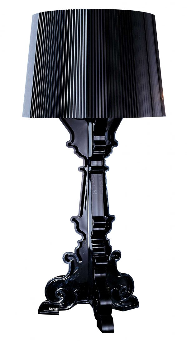 Black Kartell Bourgie table lamp Ferruccio Laviani 1