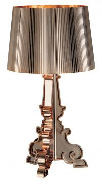 Gold Kartell Bourgie table lamp Ferruccio Laviani 1