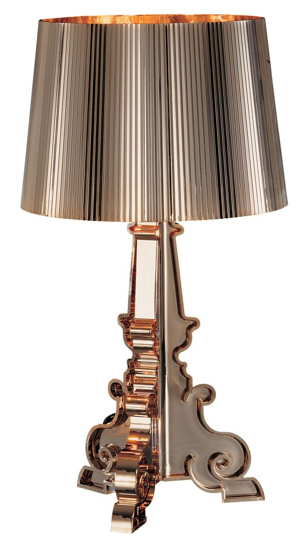 Lampe de table en or Kartell Bourgie Ferruccio Laviani 1