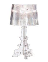 Transparente lámpara de mesa Kartell Ferruccio Laviani Bourgie 1