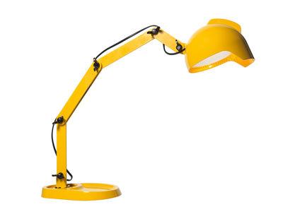 lámpara de mesa de conducir bajo la influencia diesel amarillo con Foscarini Diesel equipo creativo 1