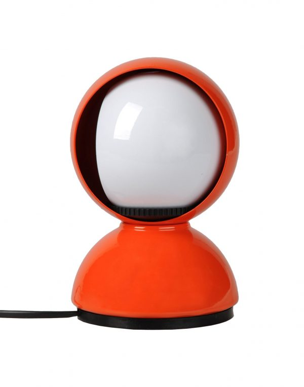 Lampe de table orange ECLISSE ARTEMIDE Vico Magistretti 1