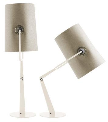 Lámpara de mesa Tenedor de Marfil Diesel con Foscarini Diesel equipo creativo 1
