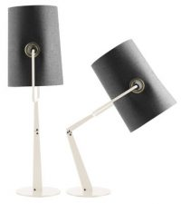 by Fork Grey table lamp | Ivory Diesel with Foscarini Diesel Creative Team 1