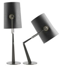 Table lamp Fork Brown | Grey Diesel with Foscarini Diesel Creative Team 1