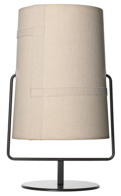 Table lamp Fork Maxi / H 44 cm Brown | Ivory Diesel with Foscarini Diesel Creative Team 1