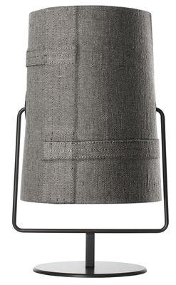 Table lamp Fork Maxi / H 44 cm Brown | Grey Diesel with Foscarini Diesel Creative Team 1