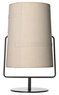 Table lamp Fork Mini / H 36 cm Brown | Ivory Diesel with Foscarini Diesel Creative Team 1