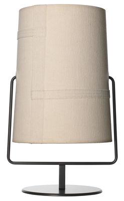 Brown Lampe de table Fork Mini / H 36 | Ivoire Diesel with Foscarini Diesel Creative Team 1
