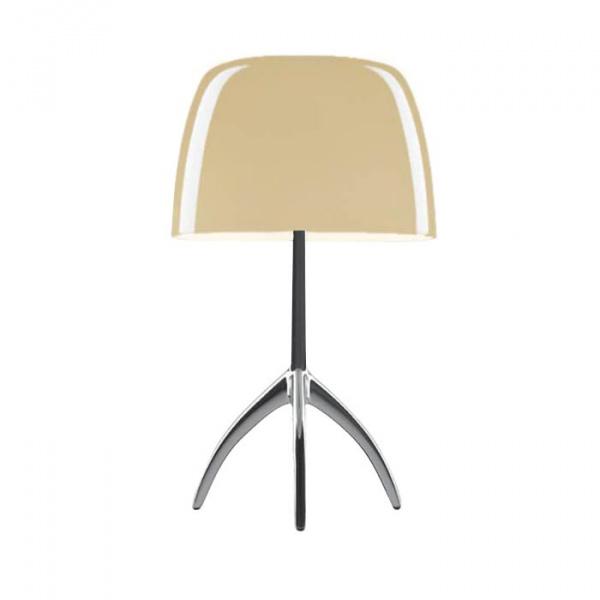 Lámpara de mesa Lumiere TL S DIM Aluminio | blanco cálido Foscarini Rodolfo Dordoni 1