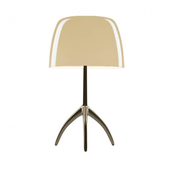 Lumiere TL S DIM Champagne table lamp | warm white Foscarini Rodolfo Dordoni 1