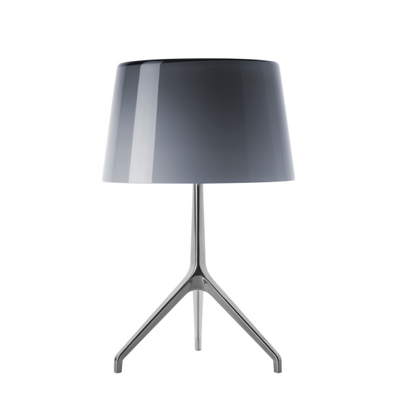 Lámpara de mesa Lumiere TL XXL Aluminio | gris Foscarini Rodolfo Dordoni 1