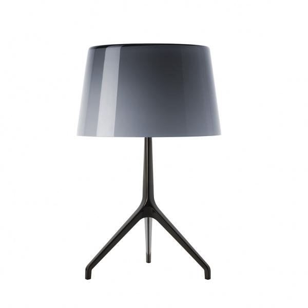 Lampe de table Lumiere TL XXL Chrome foncé | gris Foscarini Rodolfo Dordoni 1