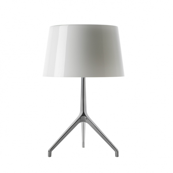Table lamp Lumiere TL XXS Aluminum / white Foscarini Rodolfo Dordoni 1