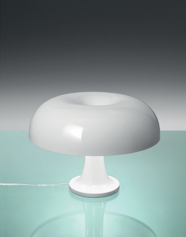 Lampe de table Nessino blanc ARTEMIDE Giancarlo Mattioli 2