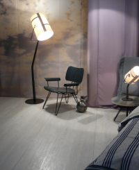 Floor Lamp Fork Brown | Grey Diesel with Foscarini Diesel Creative Team 2