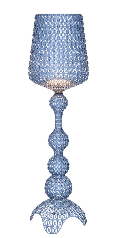 Kabuki Floor Lamp Light Blue Kartell Ferruccio Laviani 1