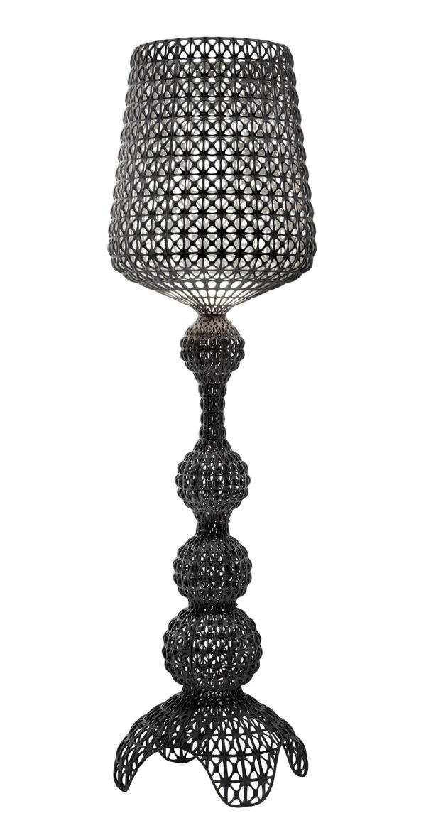 Kabuki Floor Lamp Black Kartell Ferruccio Laviani 1
