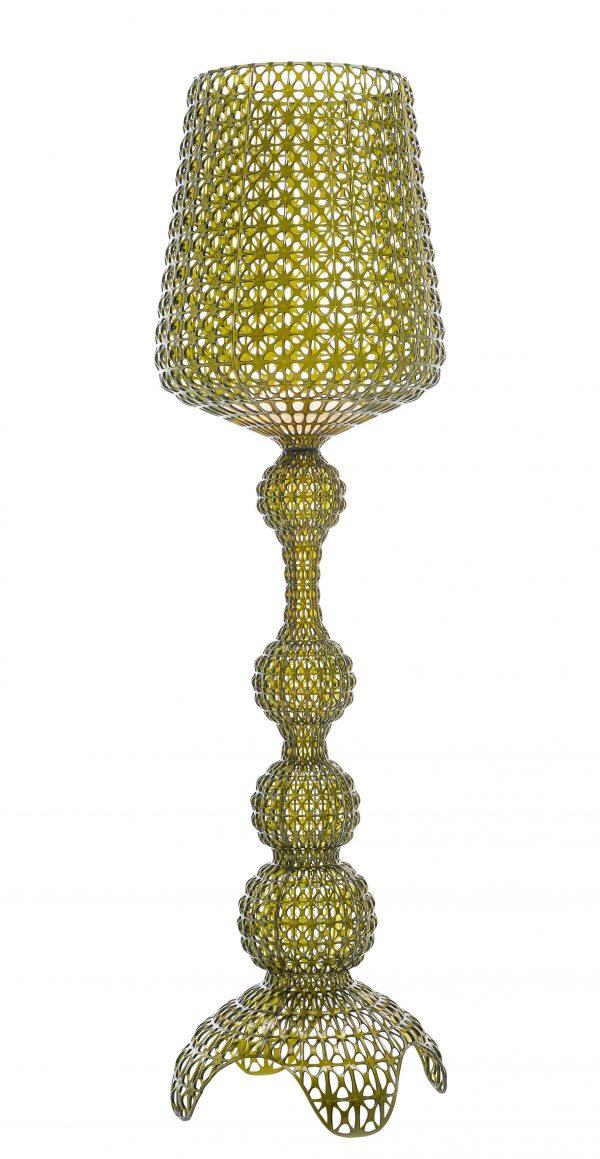 Kabuki Floor Lamp Transparente Verde Kartell Ferruccio Laviani 1