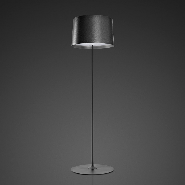 Twiggy Reading Floor Lamp Black Foscarini Marc Sadler 1