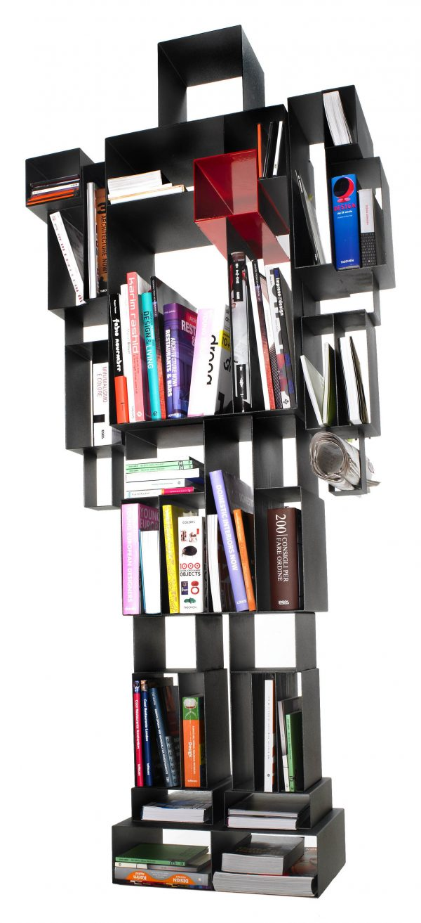Red Robox Bookshelf | Nwa Casamania Fabio Novembre