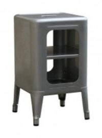 Tolixフレデリック・GAUNET 50塗装モバイル低スツールH 1 cm色鋼