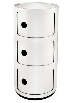 Unité de rangement Componibili / tiroirs 3 Bianco Kartell Anna Castelli Ferrieri 1