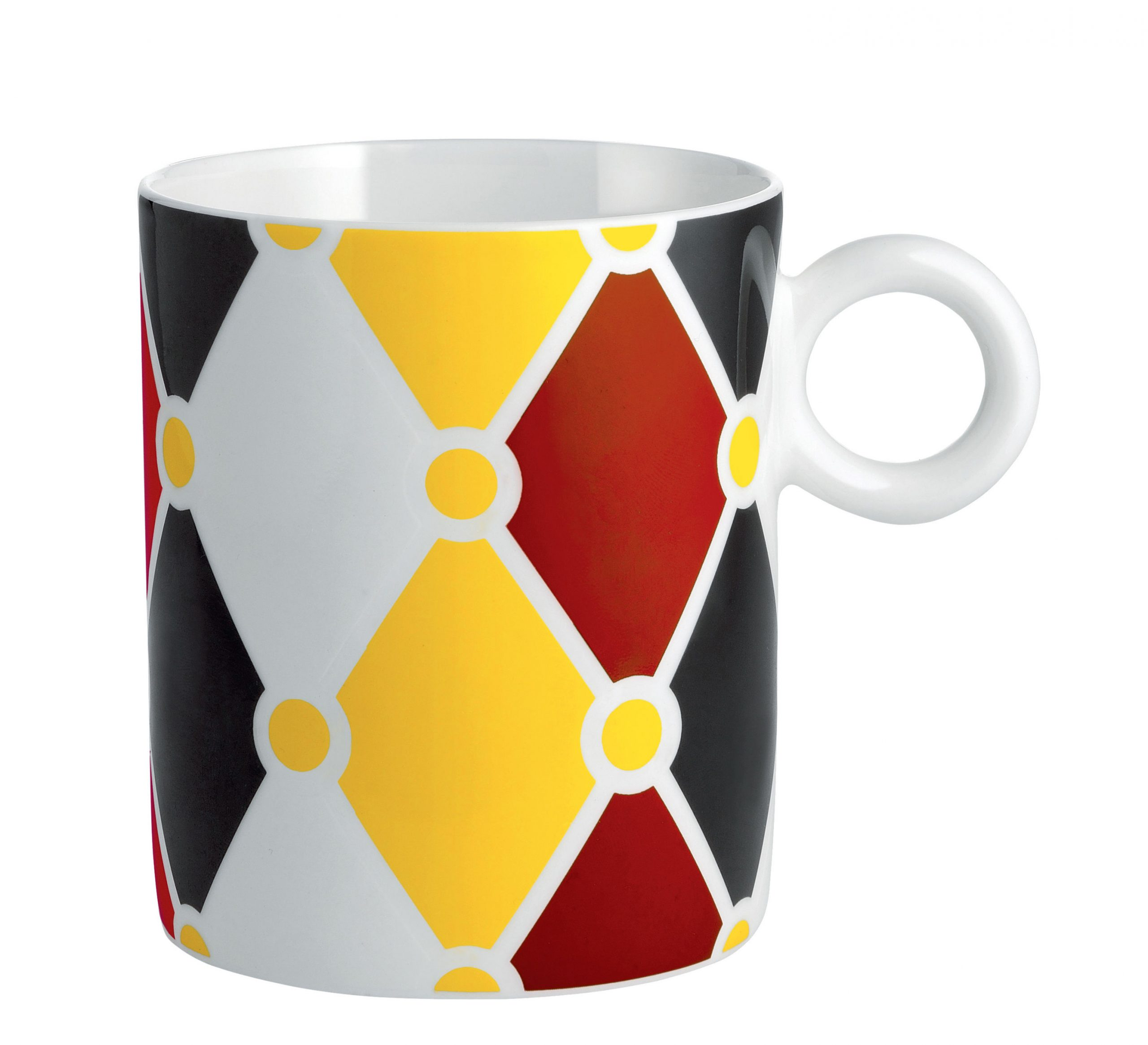Κούπα Τσίρκο Λευκό | Κίτρινο | Κόκκινο | Μαύρο ALESSI Marcel Wanders 1