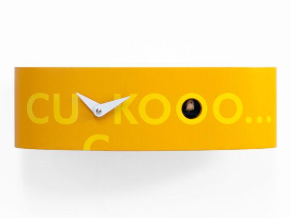 Orologio da parete Ellipse Arancione Progetti Barbero Design 2