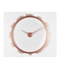 Ρολόι τοίχου Στεφάνη χαλκού χαλκού Progetti Giambattista Gaggero 1
