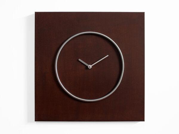 Relógio de parede Kreis aço Corten Progetti Progetti CR 2