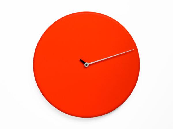 Wall clock Less Rosso Progetti Alberto Sala 2