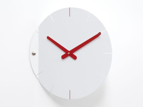 Time2play Wall Clock White | Red Progetti Alessia Gasperi 2
