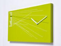 Orologio da parete Timeline Verde Progetti Alberto Sala 1