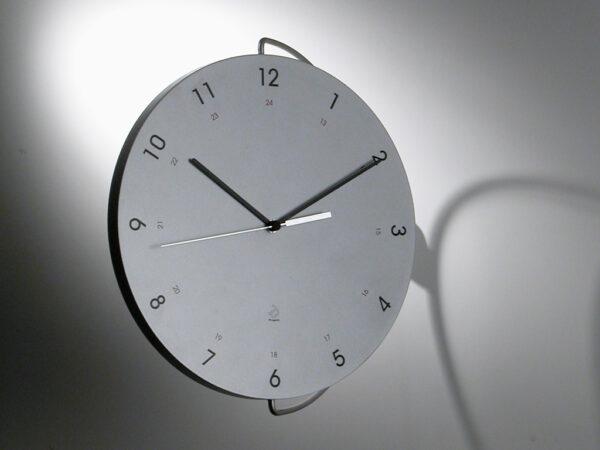 Tour Silver Wall Clock Progetti Pino Montalti 2