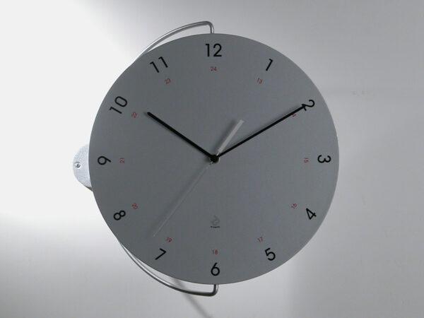 Tour Silver Wall Clock Progetti Pino Montalti 1
