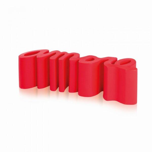 Amore Rosso Bench Slide Giò Colonna Romano 1