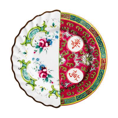 Piatto Da Dessert Hybrid Eudossia - Ø 20 cm Multicolore Seletti CTRLZAK