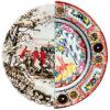 Plato llano híbrido Eusapia - Ø 27,5 cm Multicolor Seletti CTRLZAK